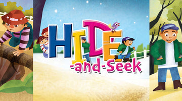 HIDE AND SEEK | Free Children's book from Monkey Pen