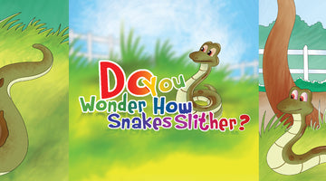 DO YOU WONDER HOW SNAKES SLITHER?  | Free Children Book