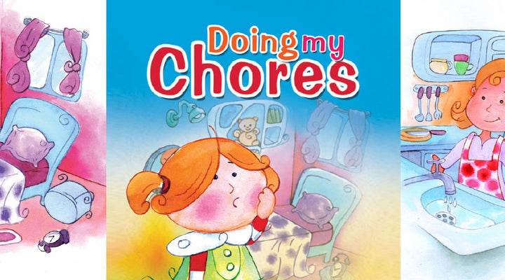 DOING MY CHORES  | Free Children Book