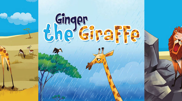 GINGER THE GIRAFFE  | Free Children Book