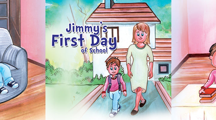 JIMMY'S FIRST DAY OF SCHOOL  | Free Children Book
