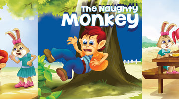 THE NAUGHTY MONKEY  | Free Children Book