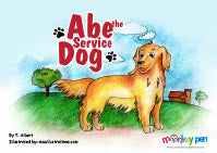 Abe The Service Dog - Story Books For Kids