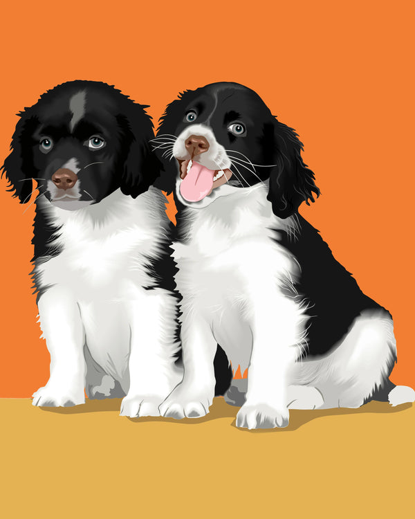 Order Warhol Style Pet Portraits Online