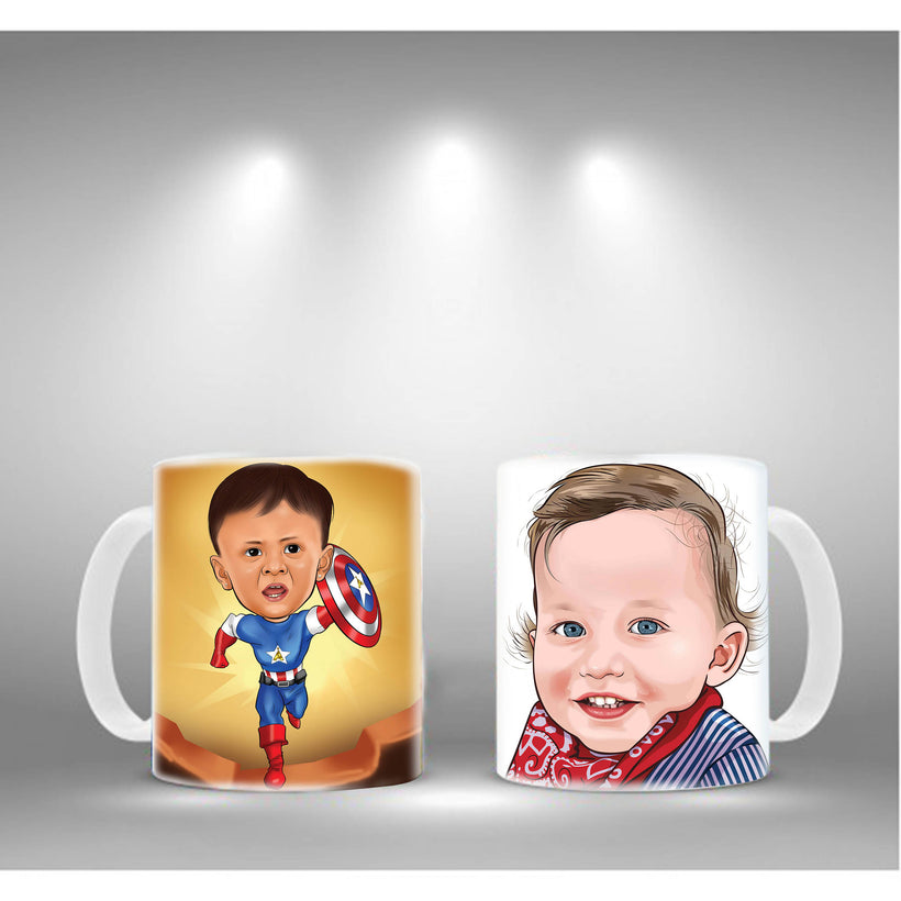 Photo Printed Mugs