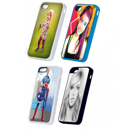 Photo printed phone cases