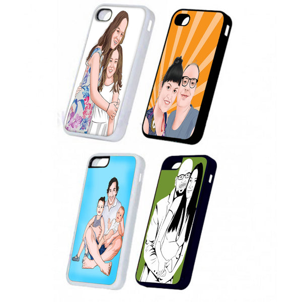 Phone cases with printed photos