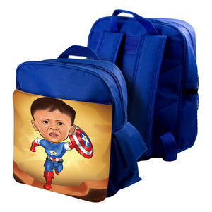 Personalized Photo Printed on Child's Bag