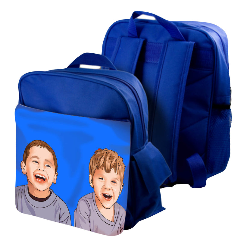 Personalized bags with custom image printed