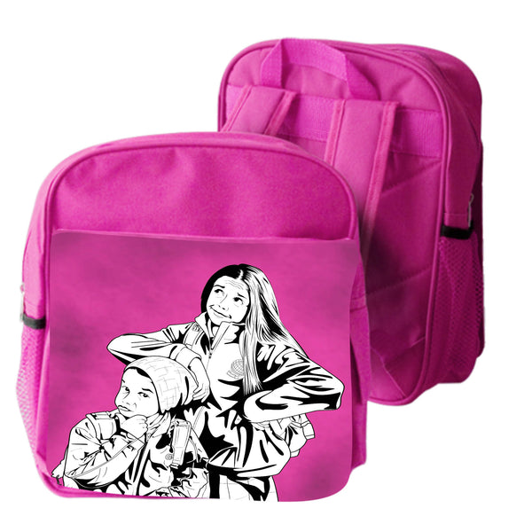 Photo printed school bag for kids