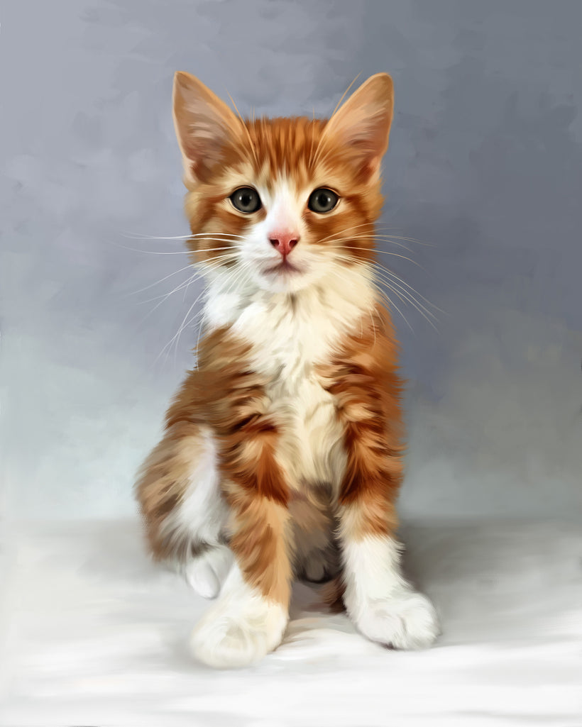 Portrait Artwork in Digital Pet Painting