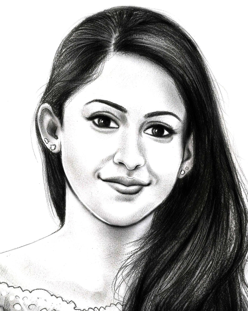 Order pencil finish portrait online