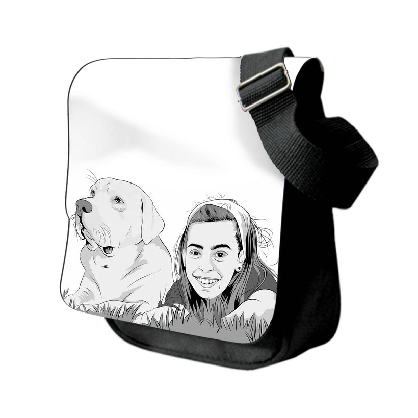 Shop Printed Photo Messenger Bags