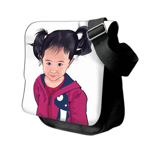 Personalized Photo Messenger Bags