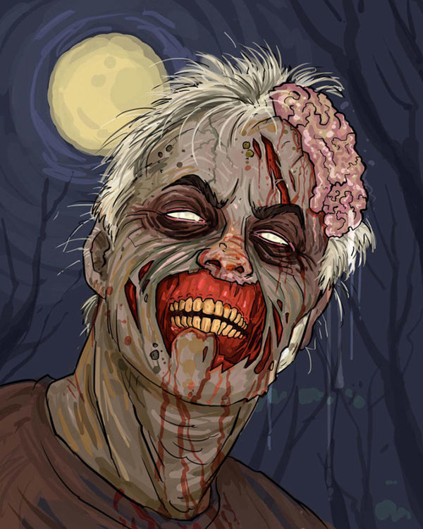 Zombie Style Portrait Artists