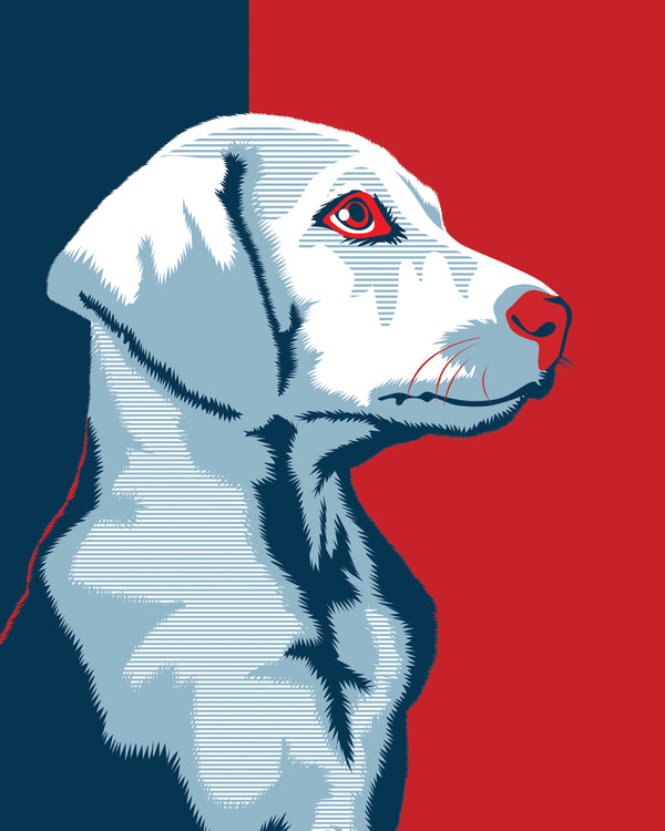 Obama Style Pet Portrait Artists