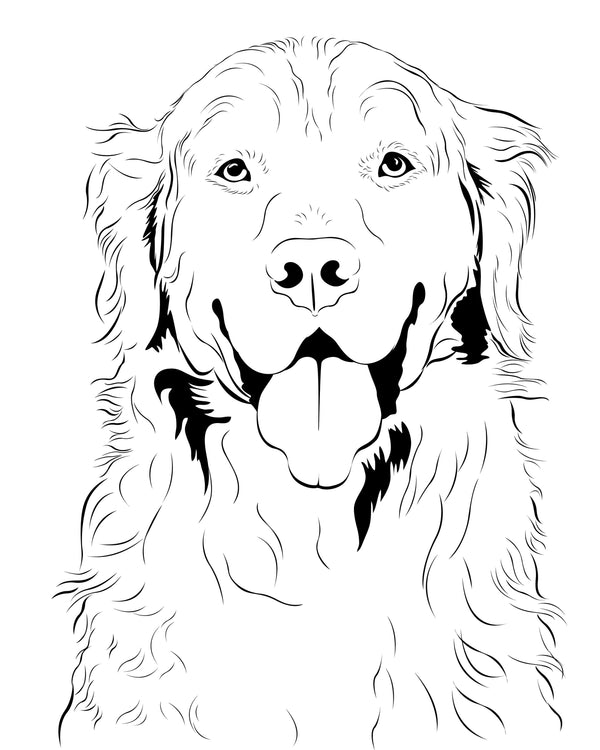 Order Line Art Pet Portraits Online