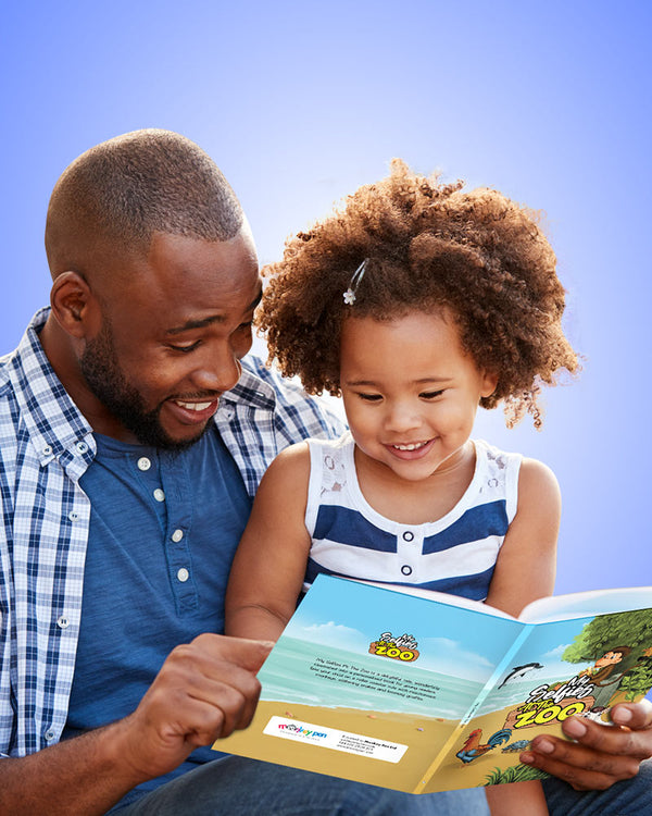 personalised children's book with Dad