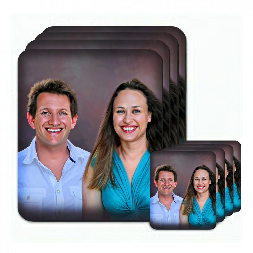 Personalized Photo Mug Coasters