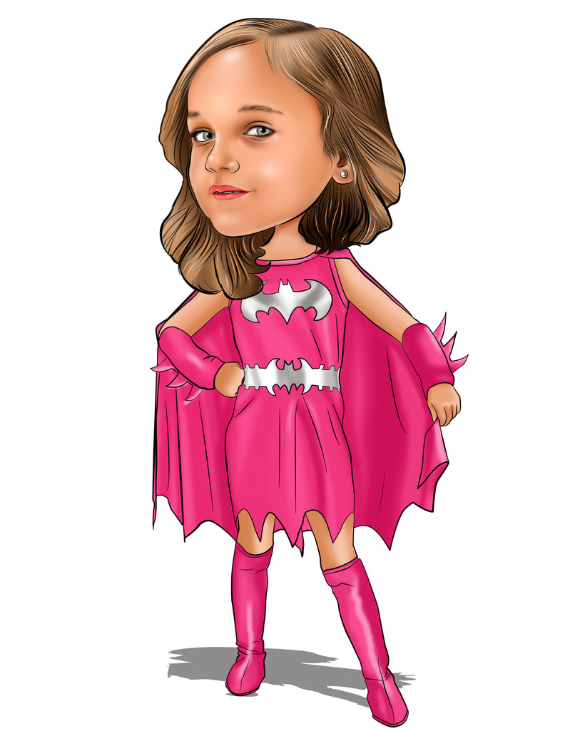 Comic Superhero Caricatures Artists Online