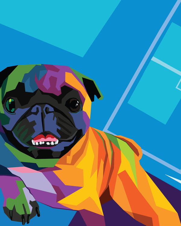 Color WPAP Pet Portraits