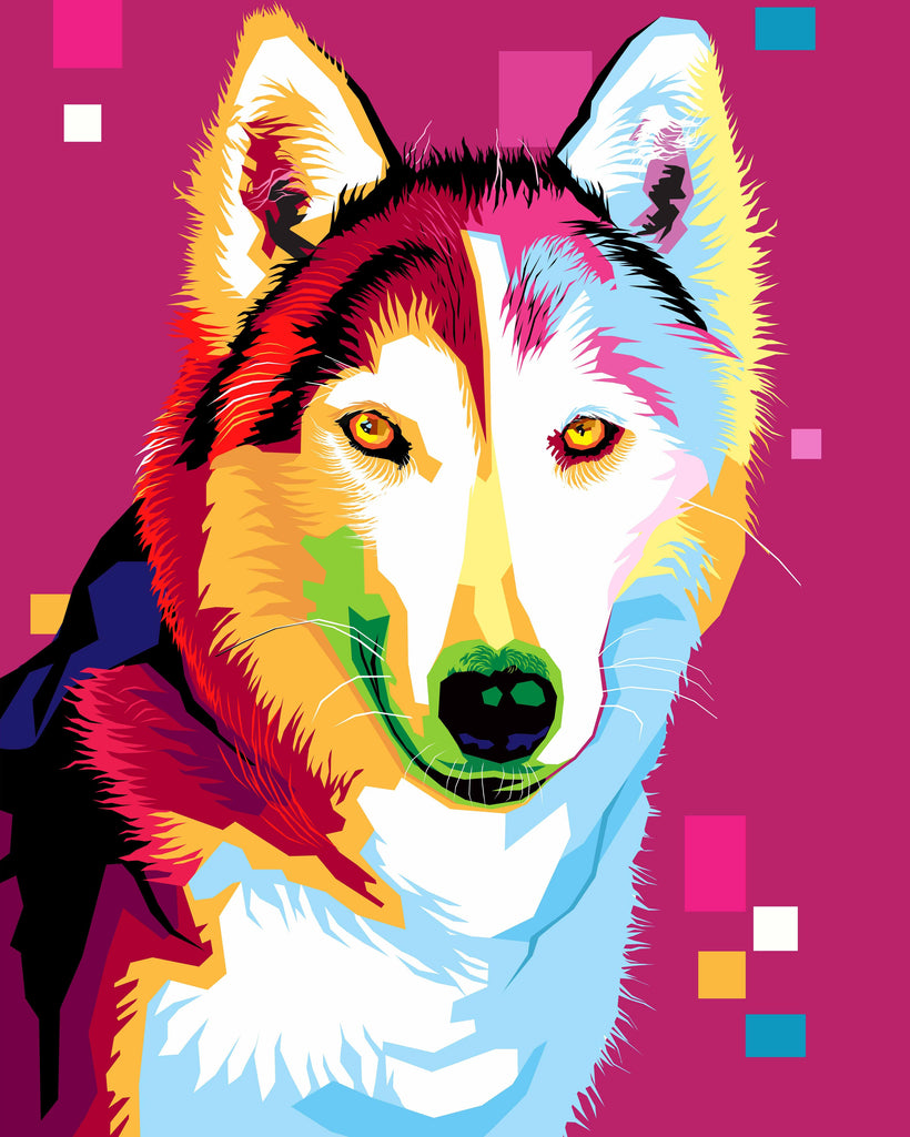 WPAP Pet Portrait Artists