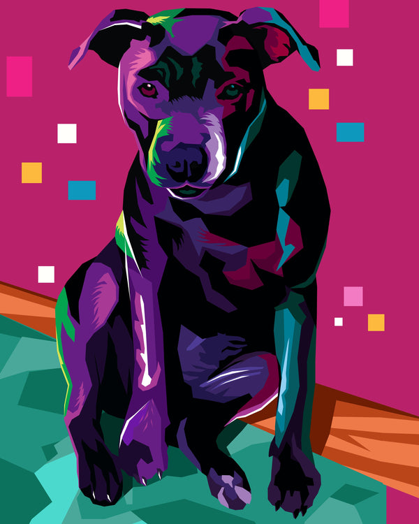 Online WPAP Pet Portrait Artists
