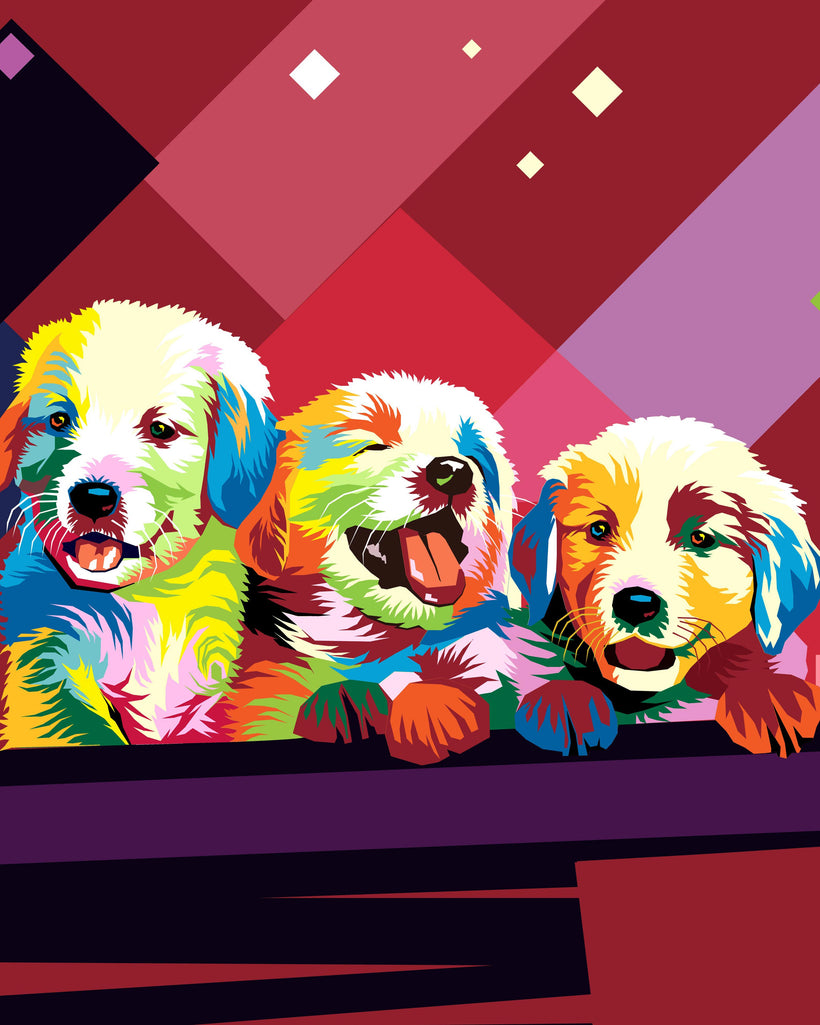 WPAP Pet Portraits