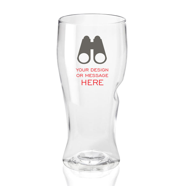 Personalized GOVINO Camping Beer Shatterproof Glass