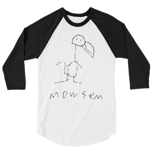 The Original Mowsem 3/4 sleeve raglan shirt Raglan - Mowsem