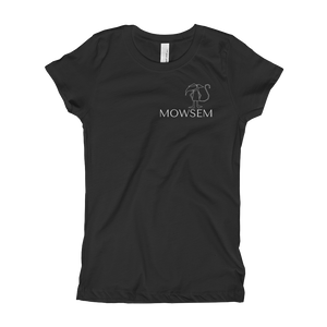 Mowsem Logo Fitted Girl's T-Shirt Youth T-Shirt - Mowsem