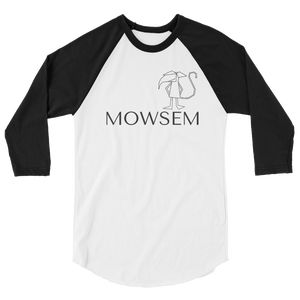 Mowsem Logo Three-Quarter Sleeve Raglan Shirt Raglan - Mowsem