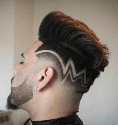 Haircut Designs Barbershop Mens Haircuts