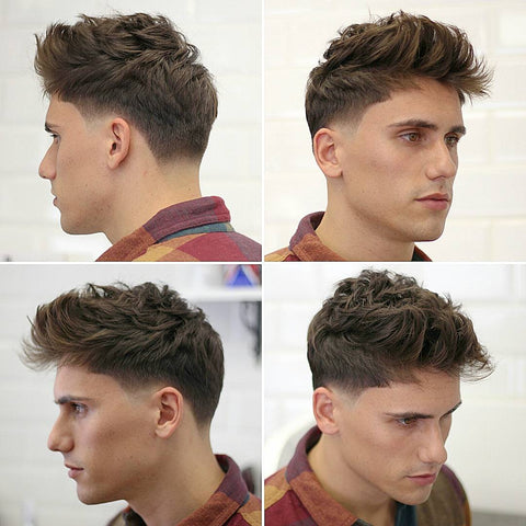 Textured Haircut For Guys