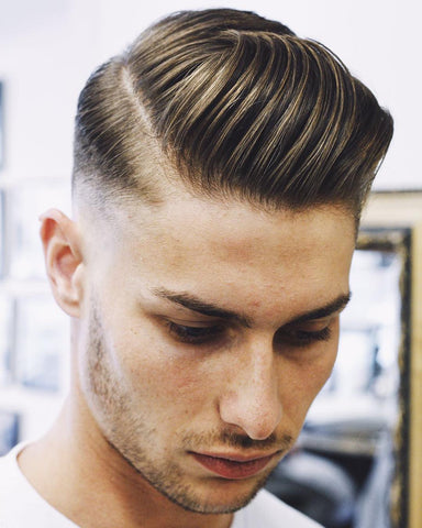 Pompadour high fade mens hair styles
