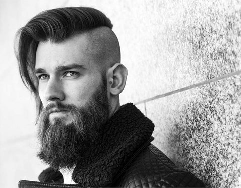 Long mens Hair cut Undercut
