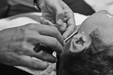 barber shave haircut