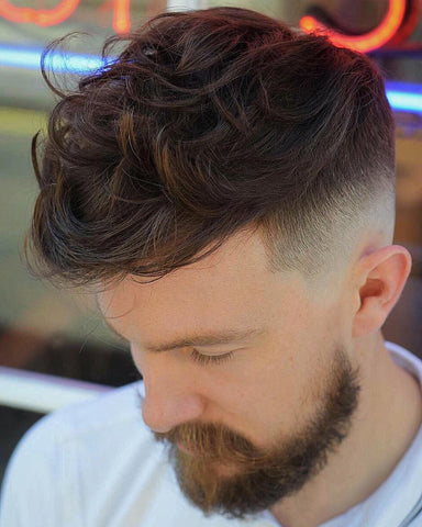 Men's Haircut For Wavy Hair