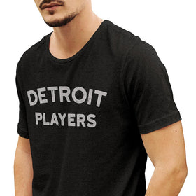 'Detroit Players' Heather Charcoal T-Shirt