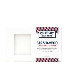 4 oz. Bar Shampoo - Coconut & Lime