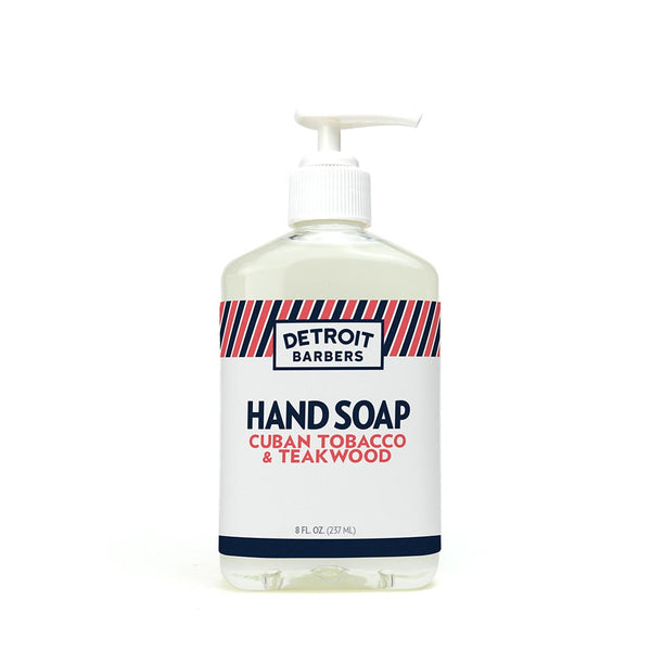 8 oz. Hand Soap - Cuban Tobacco & Teakwood