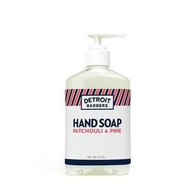 8 oz. Hand Soap - Patchouli & Pine