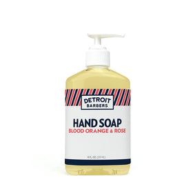 8 oz. Hand Soap - Blood Orange & Rose