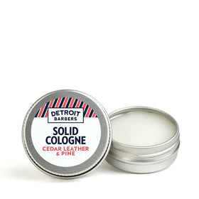 0.5 oz. Solid Cologne - Cedar Leather & Pine