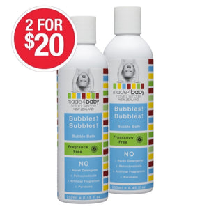SPECIAL Bubble Bath (Fragrance Free) 250ml 2 for $20