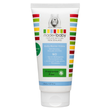 Botty Barrier / Nappy Rash Cream (Fragrance Free) 150ml