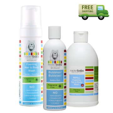Wash Bundle (Fragrance Free)