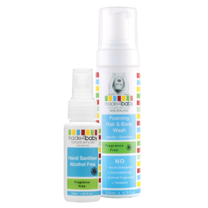 Hand Sanitiser + Wash (Fragrance Free)