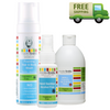 Hand Sanitiser + Wash + Refill Bundle (Fragrance Free)