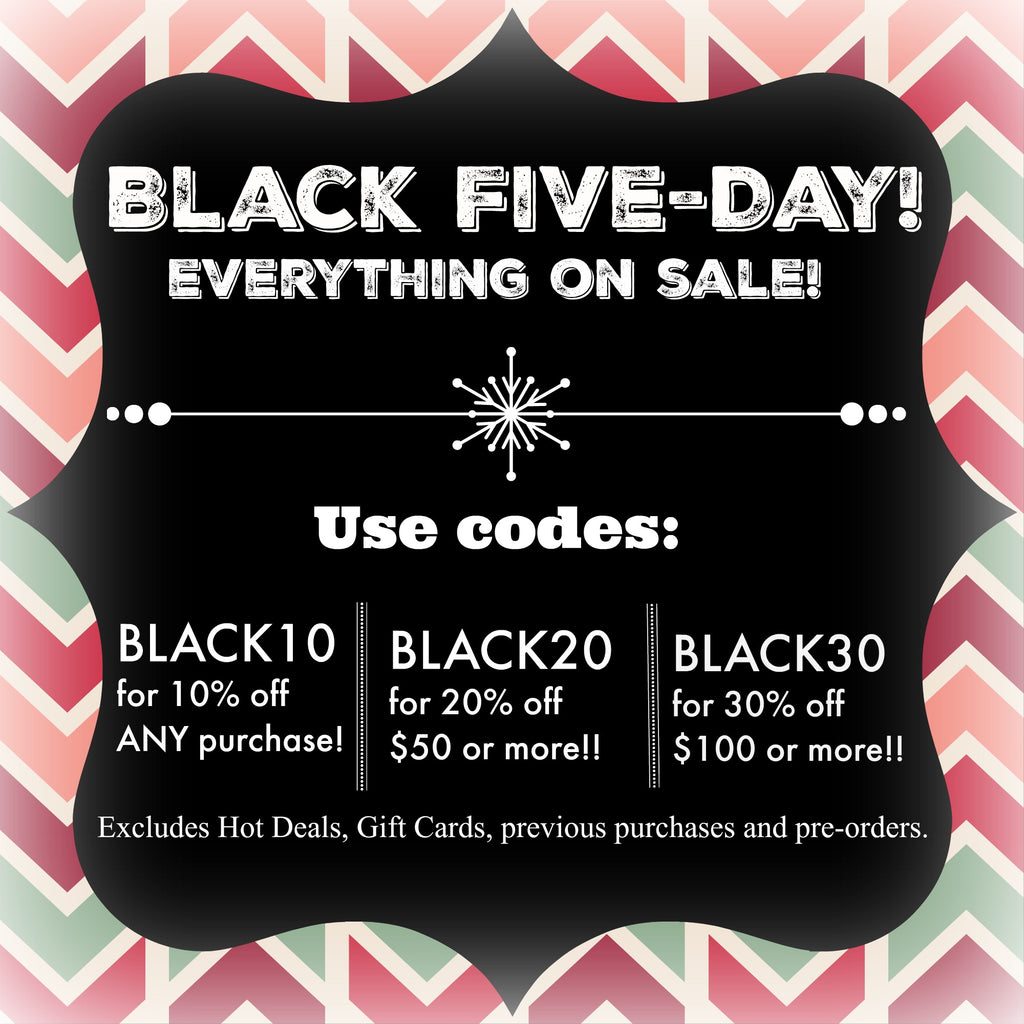 Black Five Day starts now!!